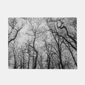 """抽象的な森林""""色""""のドア・マットカスタマイズ ドアマット"""