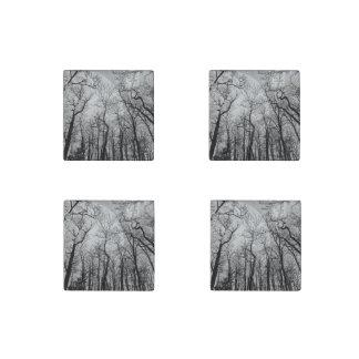 """抽象的な森林""""色""""の冷蔵庫用マグネットカスタマイズ ストーンマグネット"""