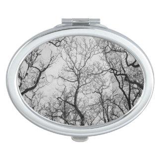 """抽象的な森林""""色""""の鏡のコンパクトカスタマイズ"""