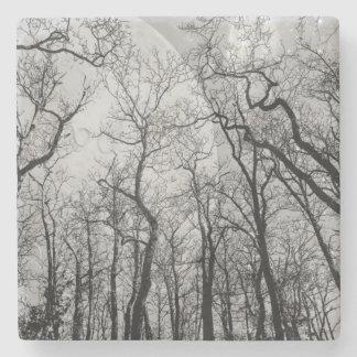 """抽象的な森林""""色""""の飲み物のコースターカスタマイズ ストーンコースター"""