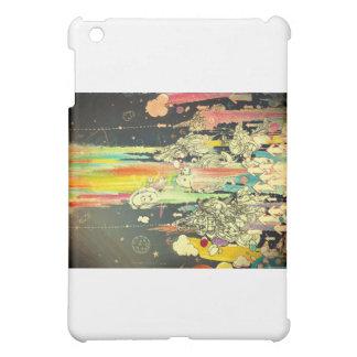 抽象的な毎日のしぶきのペンキ iPad MINIカバー