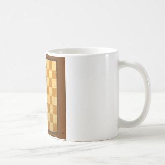 抽象的な毎日のチェス盤 コーヒーマグカップ