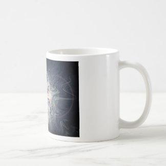 抽象的な水彩画との王冠のチャクラ コーヒーマグカップ