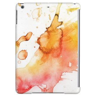 抽象的な水彩画の手塗りの背景