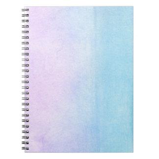 抽象的な水彩画の手塗りの背景18 ノートブック