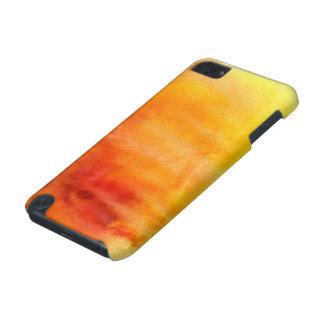 抽象的な水彩画の手塗りの背景19 iPod TOUCH 5G ケース