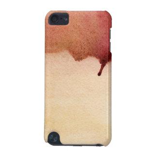 抽象的な水彩画の手塗りの背景3 iPod TOUCH 5G ケース