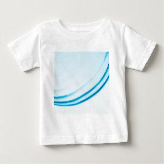 抽象的な水晶はカーブを反映します ベビーTシャツ