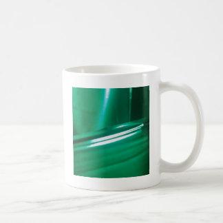 抽象的な水晶はゴムを反映します コーヒーマグカップ