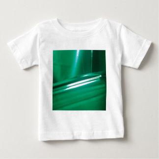 抽象的な水晶はゴムを反映します ベビーTシャツ