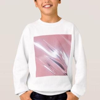 抽象的な水晶はシャンデリアを反映します スウェットシャツ