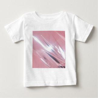 抽象的な水晶はシャンデリアを反映します ベビーTシャツ