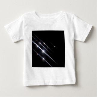 抽象的な水晶はスカイラインを反映します ベビーTシャツ