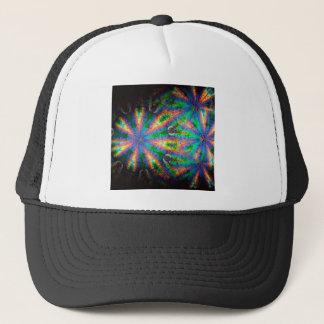 抽象的な水晶はプレートを反映します キャップ