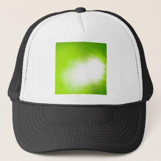 抽象的な水晶はライムを反映します キャップ