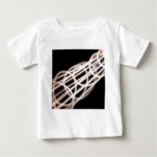 抽象的な水晶はループを反映します ベビーTシャツ