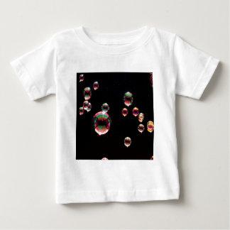 抽象的な水晶は低下を反映します ベビーTシャツ