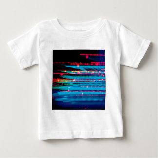 抽象的な水晶は情報を反映します ベビーTシャツ