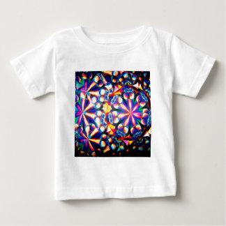 抽象的な水晶は泡を反映します ベビーTシャツ