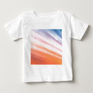 抽象的な水晶は貝を反映します ベビーTシャツ