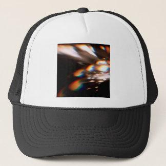 抽象的な水晶は輝やきを反映します キャップ