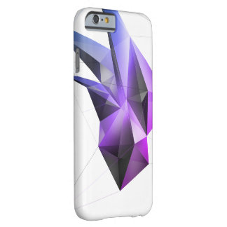 抽象的な水晶(中心マイアミ) iPhone 6/6sの場合 Barely There iPhone 6 ケース
