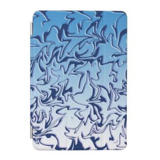 抽象的な氷った渦巻 iPad MINIカバー