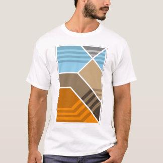 抽象的な沈み込み帯の地帯の地質学 Tシャツ