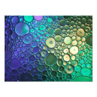 抽象的な泡写真撮影 フォトプリント
