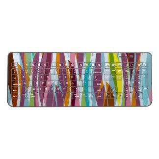 抽象的な海藻 ワイヤレスキーボード