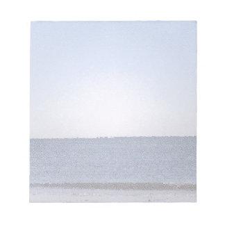 抽象的な海 ノートパッド
