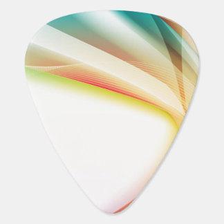 抽象的な渦巻2 ギターピック