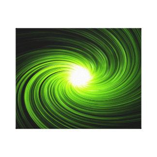 抽象的な渦巻 キャンバスプリント