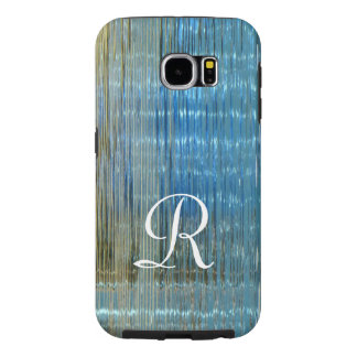 抽象的な湖の反射のモノグラム堅いSamsung Samsung Galaxy S6 ケース