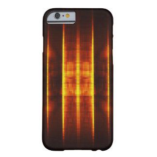 抽象的な火のデザイン BARELY THERE iPhone 6 ケース