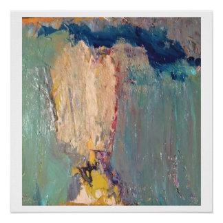 抽象的な男の子- 20 x 20光沢印画 ポスター