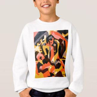 抽象的な男性1 スウェットシャツ
