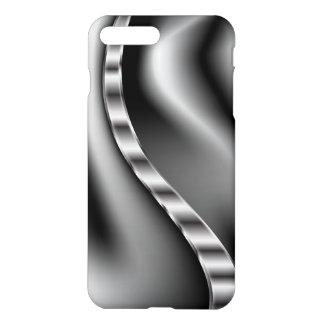 抽象的な白黒幼虫 iPhone 8 PLUS/7 PLUSケース