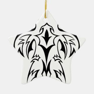 抽象的な種族のケルト族のデザイン 陶器製星型オーナメント
