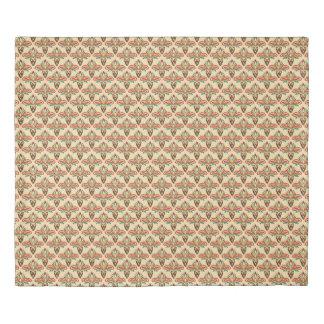 抽象的な種族パターン 掛け布団カバー