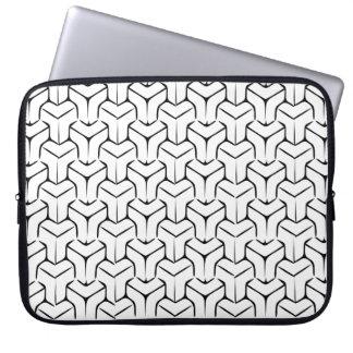抽象的な立方体 ラップトップスリーブ