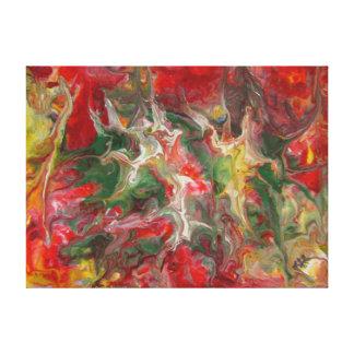 抽象的な絵画のモダンでコンテンポラリーなファインアート キャンバスプリント
