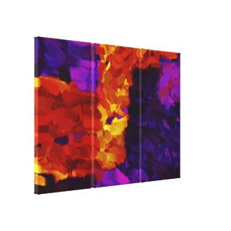 抽象的な絵画|の抽象美術19 キャンバスプリント
