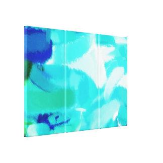 抽象的な絵画 の抽象美術24 キャンバスプリント