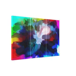 抽象的な絵画|の抽象美術3 キャンバスプリント