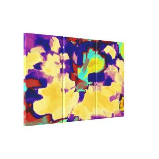 抽象的な絵画 の抽象美術8 キャンバスプリント