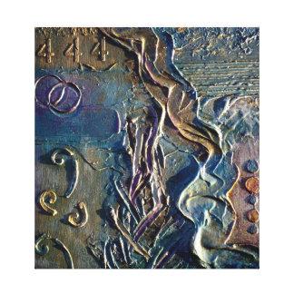 抽象的な絵画-ヒイラギのアンダーソンの芸術によって444 キャンバスプリント