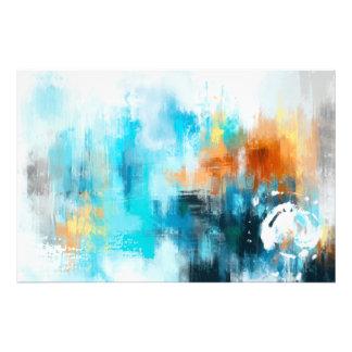 抽象的な絵画 フォトプリント