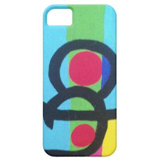 抽象的な絵画 iPhone SE/5/5s ケース