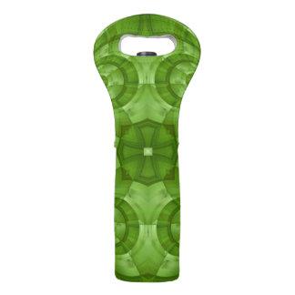 抽象的な緑の木製パターン ワイントート